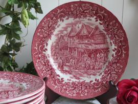 Dinerborden Royal Tudor Ware
