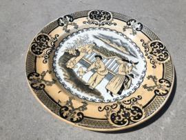 Antiek oriëntaals bord P. Regout & Co