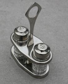 RVS peper en zoutstelletje