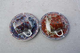 Set kopjes Babylon Royal Porcelain