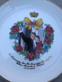 Herdenkingsset huwelijk  Willem-Alexander & Maxima