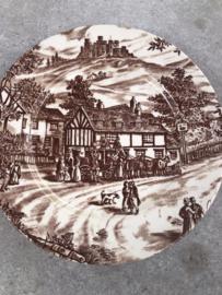 Klein Engels bordje Swann Inn J. Broadhurst & Sons