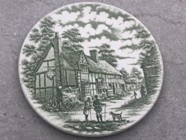Klein bordje groen Old Inns Series