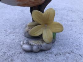 """Porseleinen vogel Franklin Mint """"Nuthatch"""""""