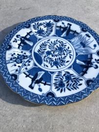 Chinees bordje blauw