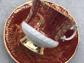 Kopje Elizabethan rood-goud