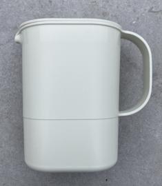 Vintage Tupperware jug beige 1970's