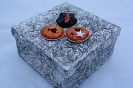 Vierkant doosje versieren