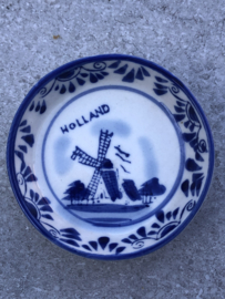 """Klein """"Delfts"""" bakje/bordje Holland Goedewaagen"""