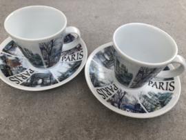Espresso kopjes Parijs