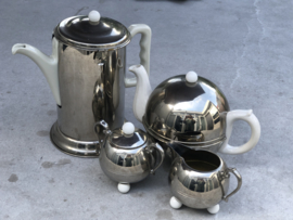 Tinnen koffie en theeset thermos Dovo Tiel