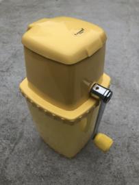 Vintage Ice crusher  geel Leopold Vienna