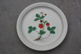 Vintage bordje aardbeien Ditmar Urbach
