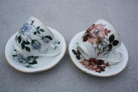 2 kopjes roos Royal Grafton