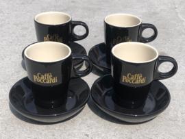 Espressokopjes Mosa bruin Caffè Poccardi