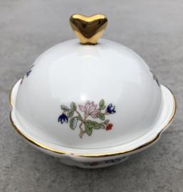 Schaaltje bloem-goud Royal Tara Ireland