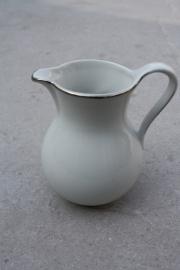 Melkkannetje wit-zilver Bareuther Waldsassen