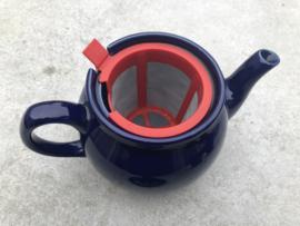 Engelse theeset blauw-goud churchill