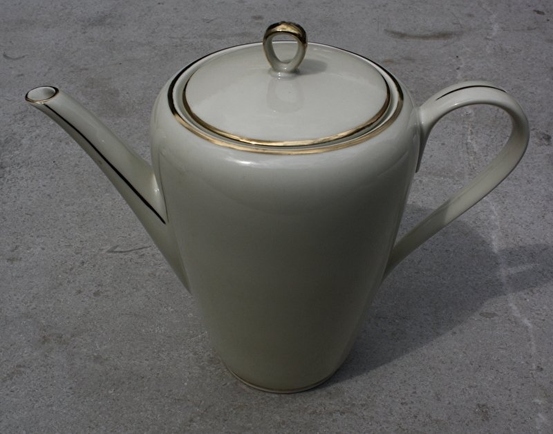 Koffiepot crème Frankenland