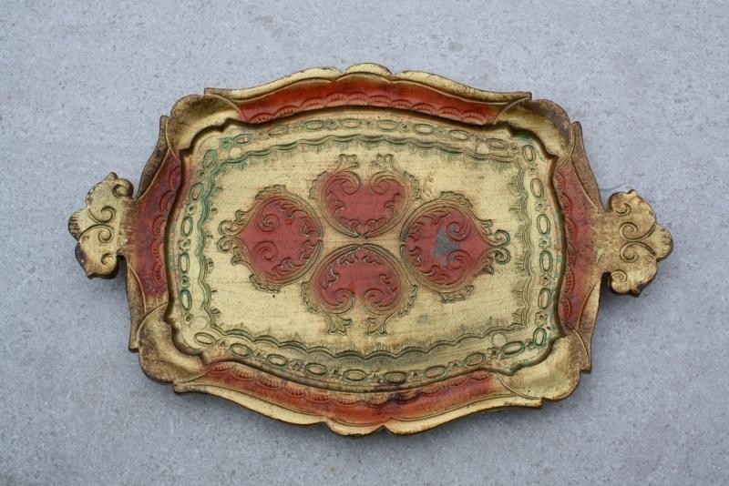 Wonderbaarlijk Klein houten dienblad | Antiek, brocante en curiosa | ellensbazaar YD-52