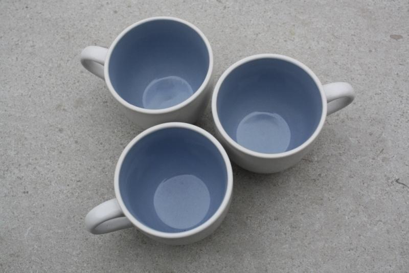 mokken blauw met wit