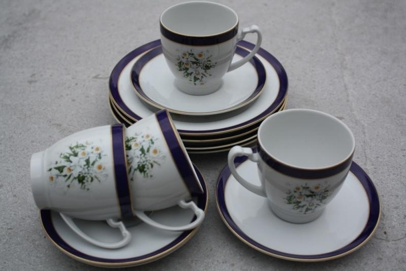 Gebaksbordjes en kopjes Christineholm Royal Wedding Bouquets