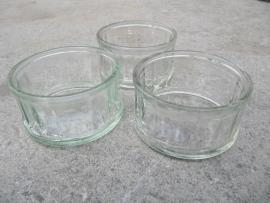 Glazen marmalade schaaltje