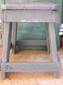 Industriële houten kruk