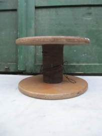French Brocante wooden spool