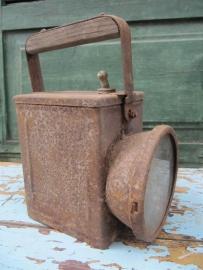 Oude metalen lantaarn