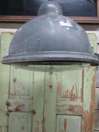 Industriële hanglamp met glasplaat