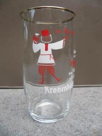 Vintage frans glas Kronenbourg