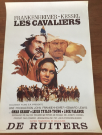Oude filmposter Les Cavaliers