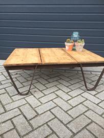 Industriële pallet (salon)tafel*