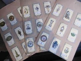 Oude plaatjes van oud Engels porcelein