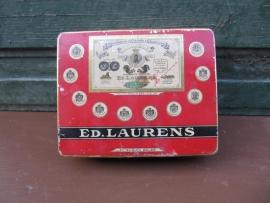Antiek sigaretten blik van Ed. Laurens fabrieken type Le Khedive