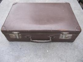 Bruin Frans brocante koffertje