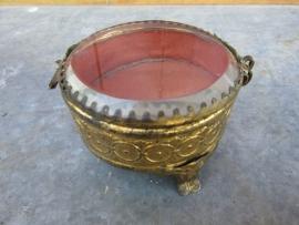 Antiek Frans bijoux doosje