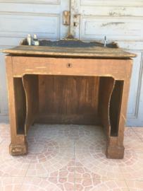 Antiek houten desk,bureau