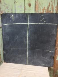 Oud krijt scorebord