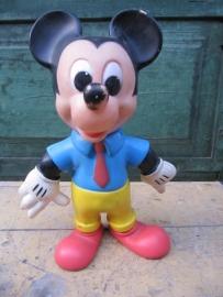 Mooie oude Mickey Mouse van kunststof uit 1968