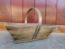 Klein houten panier/bakje