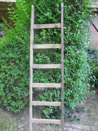 Brocant houten ladder