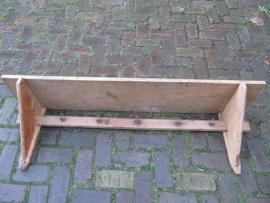 Antieke Franse houten regaal