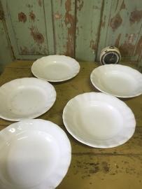 Witte borden 5 stuks