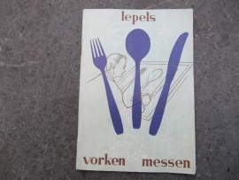 Booklet from 1958 cutlery