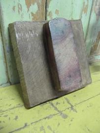 Oude batikstempel