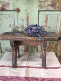 Brocant houten kruk