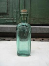Leuk Frans plat groen medicijn flesje 60 ml