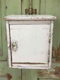 Brocant Frans brievenbus kastje